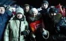 Делегация Суземского района встречает Олимпийский огонь в Брянске 15.01.2014